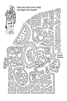 Myths and Legends Coloring Maze