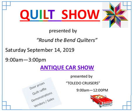 Quilt Show No Mans Land - Toledo Bend Lake Country