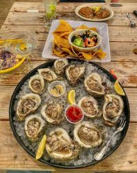 Fresh oysters are a delicacy in Louisiana