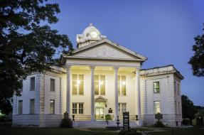 Visit Historic Sites such as the Vernon Parish Courthouse in No Man's Land