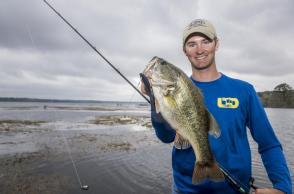 Fishing on Toledo Bend