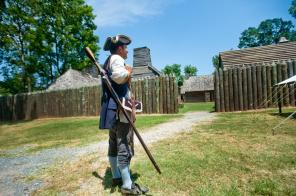 Fort St. Jean Baptiste State Historic Site in Natchitoches