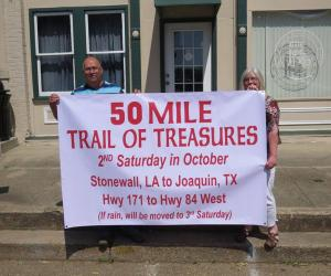 50 Miles of Treasure - Searching for treasure from Stonewall to Joaquin