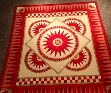 Mansfield Quilting Show - No Man's Land