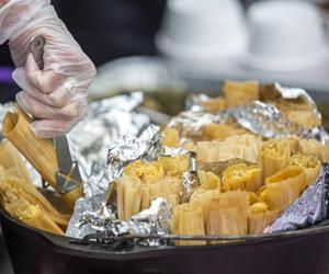 Tamales along the No Man's Land corridor